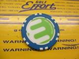 Circle-E ポーカーチップ BL/WH
