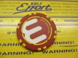 Circle-E ポーカーチップ RD/YL