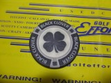Lucky Poker Chip black