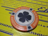 Lucky Poker Chip orange
