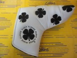 All Over Clover Blade Cover White/Black