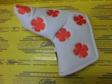 All Over Clover Blade Cover White/Orange
