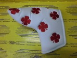 All Over Clover Blade Cover White/Red