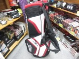 US TVD Ultra Lightweight Stand Bag-red/black/white