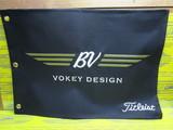US Vokey Pin Flag-black