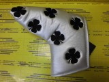 All Over Clover Blade Cover Silver/Black