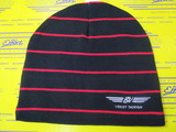 US BV Wings Striped Beanie Cap
