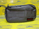 DOUBLE ZIP POUCH-2 BRF387219 GRAY