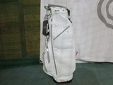 ALLIGATOR Stand Bag-WHITE