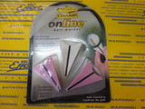 On Line Ball Marker Plastic 3pcs-pink/white