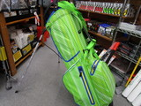 PYTHON WATERPROOF Stand Bag-APPLE GREEN/WHITE/YELLOW