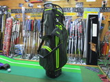 PYTHON WATERPROOF Stand Bag-BLACK/GREEN/DARK GREEN