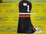 The Carlton-Handwoven/Black Base/Pure White/Orange 1W