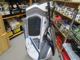 2017 XCR Cart Bag White/Gunmetal/Cobalt