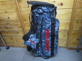 CR-4 Caddie Stand Bag BRF527219 Navy Digital Camo