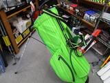 PYTHON SUPER LIGHT Stand Bag-APPLE GREEN/BLACK/GREEN