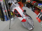 2018 2.5+ Stand Bag White/Gray/Red