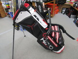 2018 H2NO Lite Stand Bag Black/White/Red