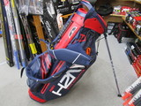 2018 H2NO Lite Stand Bag Navy/Red