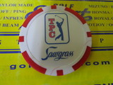 TPC Sawgrass POKER CHIP-Red