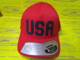USA Snapback-Scarlet