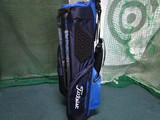 2018 PLAYERS 4UP STADRY STAND BAG-Navy/Blue