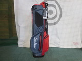 2018 PLAYERS 4UP STADRY STAND BAG-Charcoal/Red