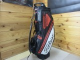 2018 PLAYERS 4 STADRY STAND BAG-Black/White/Red