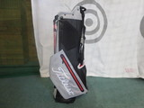 2018 PLAYERS 4 STADRY STAND BAG-Microchip/Black/Red