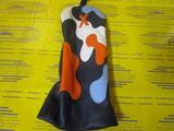 camo headcover 5w-navy/white/orange/stitch blue