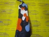 camo headcover ◆-navy/white/orange/stitch blue