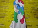 camo headcover 3w-white/sea blue/miami pink/palm green