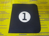 scorecard holder-navy/white/black
