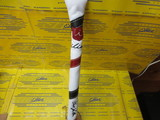 Alignment Stick Cover-Side Stripe Pure White/Red/Black