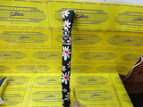 Alignment Stick Cover-Black Daisy Polish Metal Crest