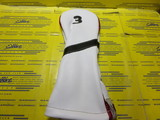 Royal 3w-Pure White/Black/British Red Piping/Black Number