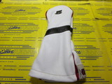 Royal 5w-Pure White/Black/British Red Piping/Black Number