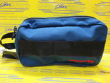 DOUBLE ZIP POUCH-2 GOLF Royal Blue