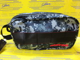 DOUBLE ZIP POUCH-2 GOLF Navy Ditital Camo