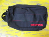 DOUBLE ZIP POUCH-3 GOLF BLACK