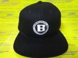 Flat Visor Cap BRG183811 Black