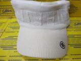 Knit Visor BG183809 White