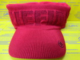 Knit Visor BG183809 Red