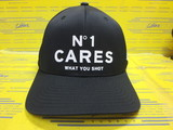 No1 Cares Snapback Onyx