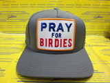 Pray For Birdies Charcoal