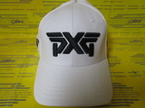 FITTED PROHEX CURVED BILL HAT-White S/M