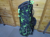 AIR LIGHT COLLECTION Stand Bag-Black/Emerald