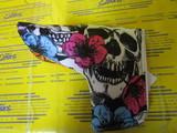 LM-HC0006/PN Skull Flowers