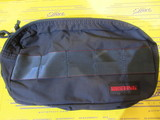 DOUBLE ZIP POUCH MW BRM181612 NAVY