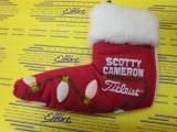 2006 Holiday Socks Red